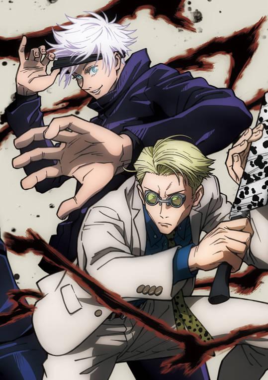 『呪術廻戦』BD&DVD Vol.3ジャケット公開! 五条悟&七海建人が登場♪