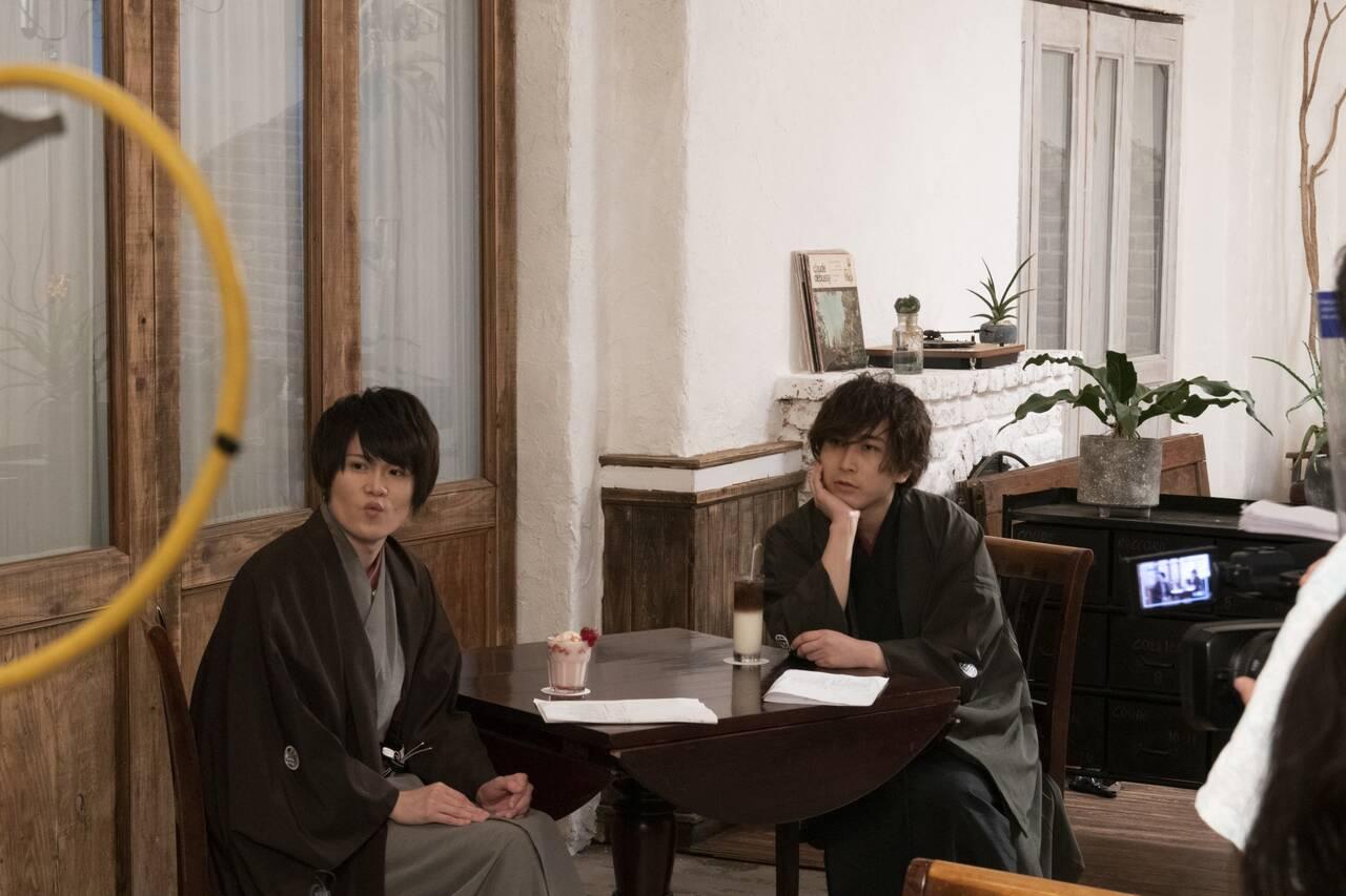 BL×落語『僕ら的には理想の落語』第9話の先行カット公開!7