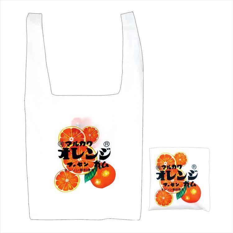 【お菓子エコバッグ】マルカワフーセンガム オレンジ 968 円(税込)