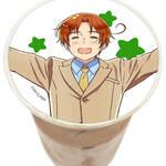 アニメイトカフェで『ヘタリアWorld★Stars』『魔法使いの約束』のグラフィックラテ&アイシングクッキーが楽しめる
