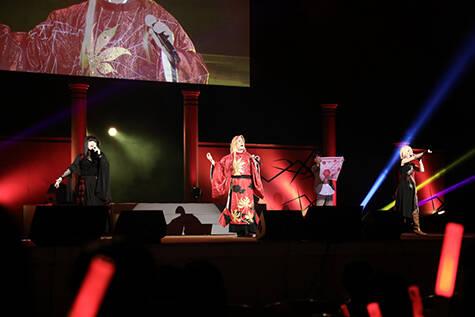 ステージ写真②『遙か二十年《鬼》祭』イベントレポート|numan