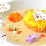 満月オムライス/1,000円(『満月をさがして』)