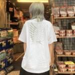自由の翼Tシャツ (ホワイト)2