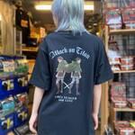 エレン・リヴァイTシャツ (ブラック)2