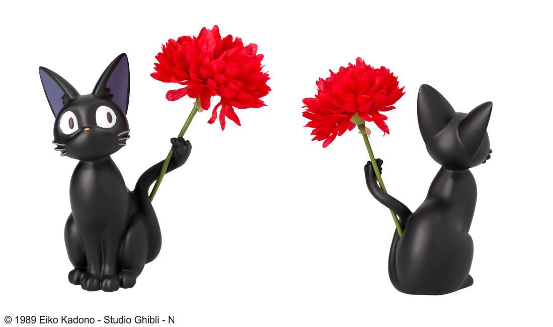 ジジ&カオナシ&シシロが可愛い♪『魔女の宅急便』『千と千尋の神隠し』『となりのトトロ』一輪挿し登場