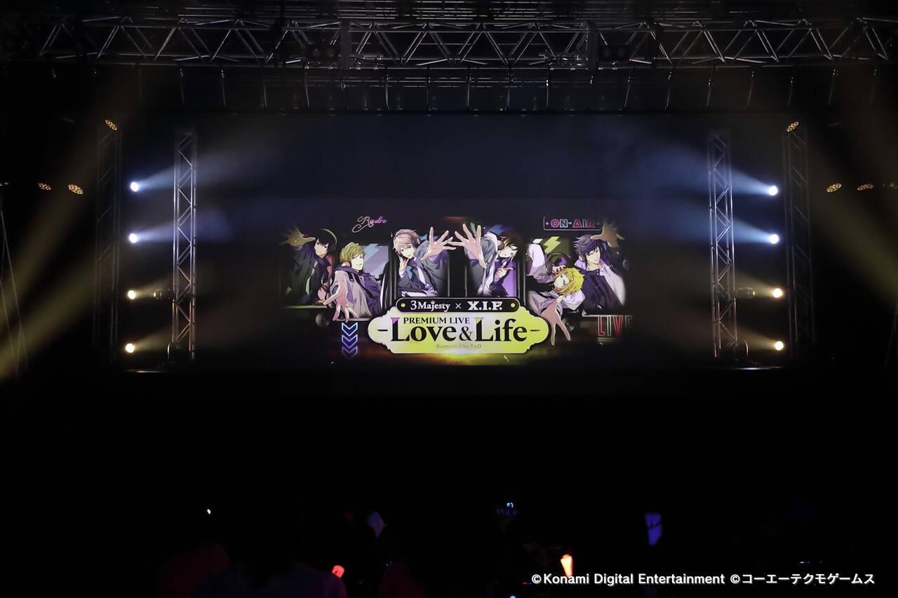 『3 Majesty × X.I.P. PREMIUM LIVE -Love&Life- 』公演写真①