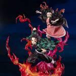 『鬼滅の刃』炭治郎と禰豆子のフィギュアが登場!