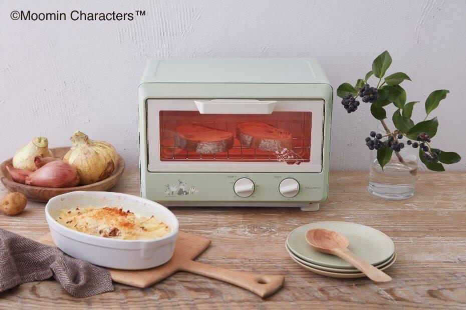 『ムーミン』がレコルトとコラボした調理家電が登場! 可愛いオーブンやケトルでキッチンを楽しもう♪