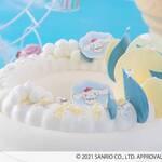 『シナモロール』ヒルトン大阪でスイーツビュッフェ開催! ふわもこ&ゆめかわなスイーツ勢ぞろい♪