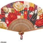 『千と千尋の神隠し』『となりのトトロ』夏にぴったりの扇子が登場! 涼しげな和風デザインがポイント♪
