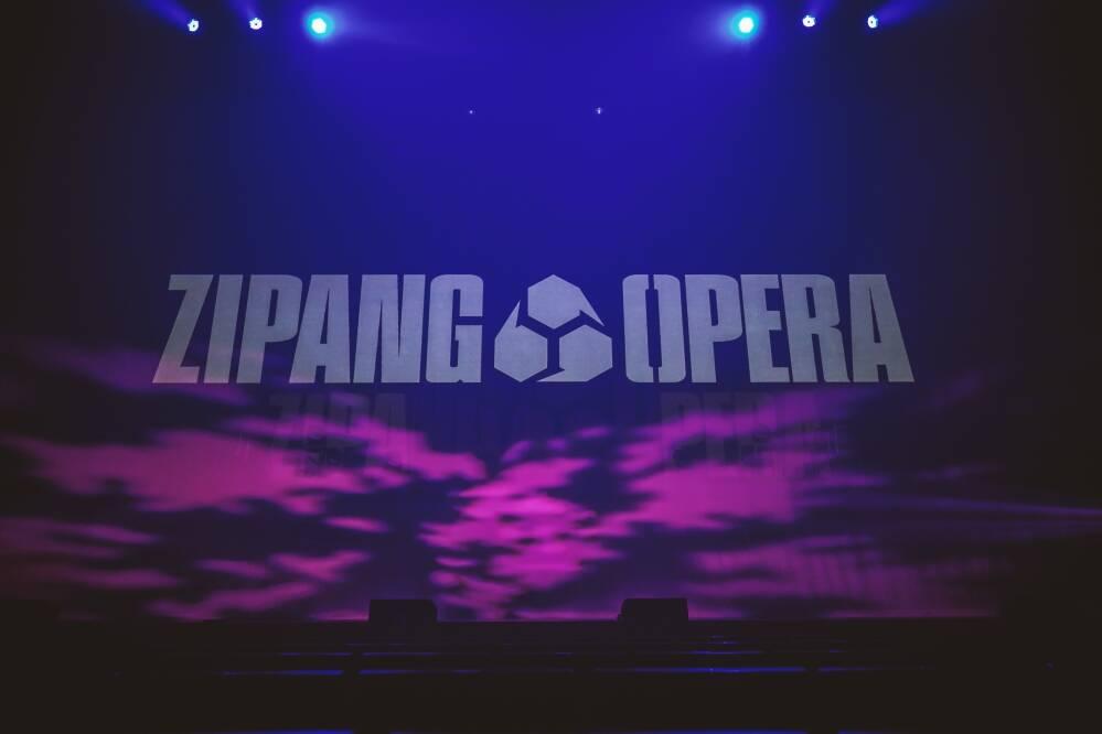 「ZIPANG OPERA ACT ZERO ~暁の海~」ジパングオペラ/オープニング緞帳