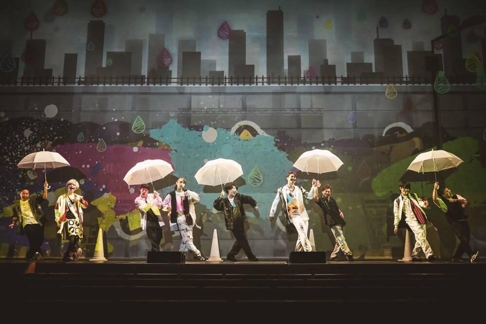 「ZIPANG OPERA ACT ZERO ~暁の海~」ジパングオペラ/カラーコーンと傘