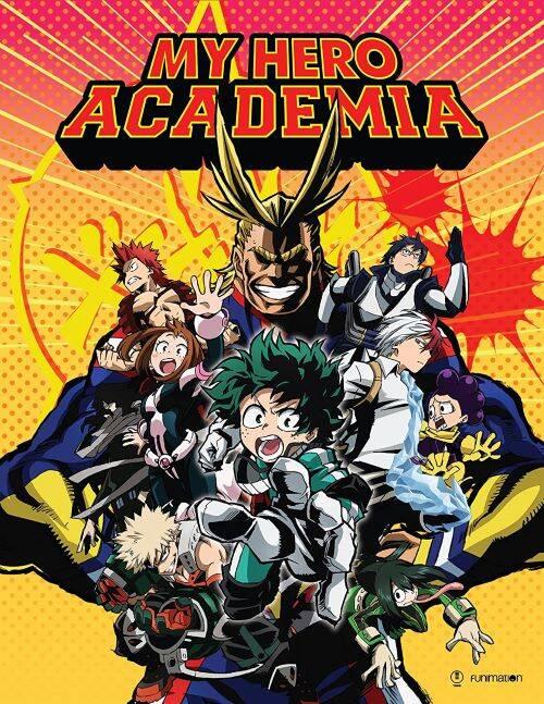 Blu-Ray/DVD『僕のヒーローアカデミア』第1期 全13話 限定版
