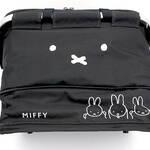 『ミッフィー』保冷カゴバッグ登場! チャックまでミッフィー仕様の可愛いデザイン♪