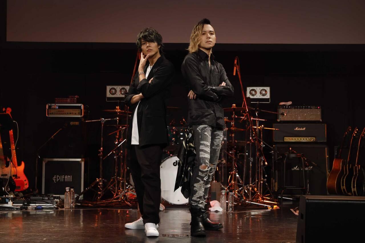 ブラスタ『BLACK TOUR』福岡公演小林太郎さんTakuyaIDEさん画像