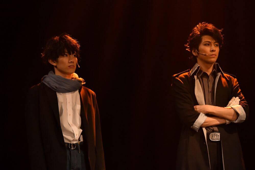 ミュージカル『憂国のモリアーティ』Op.1より、井澤勇貴・赤澤遼太郎