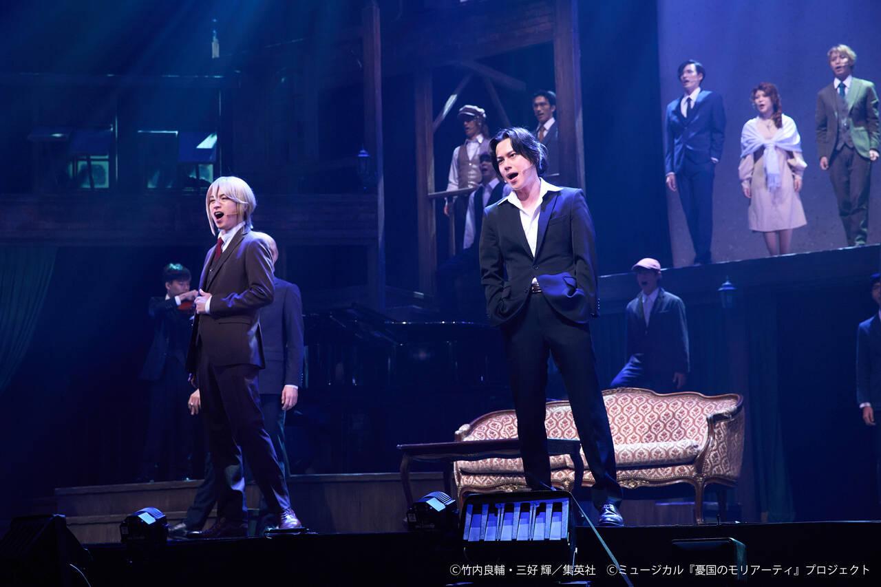 ミュージカル『憂国のモリアーティ』Op.3、開幕!3