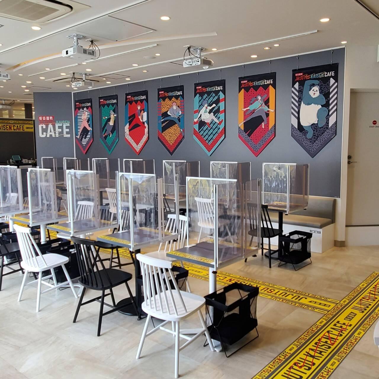 「呪術廻戦カフェ」BOX cafe&space原宿アルタ店