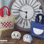 『ドラえもん』と「Maison de FLEUR」がコラボ! サンリオデザインのトートバッグやコインケースなど