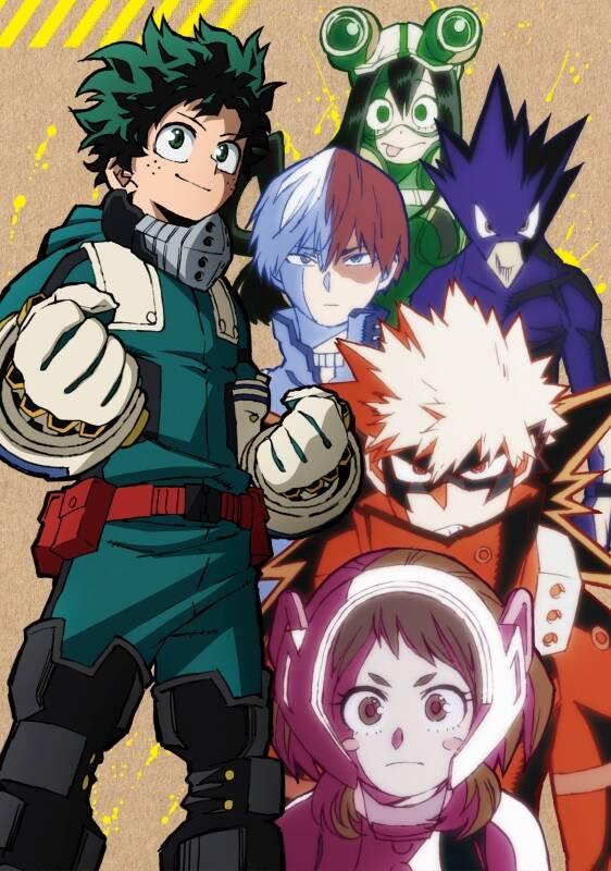 DVD『僕のヒーローアカデミア5th』Vol.1 初回生産限定版