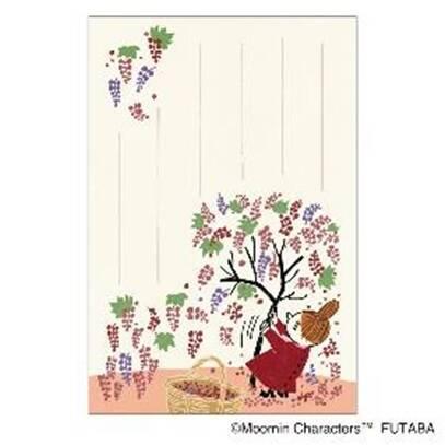 『ムーミン』秋柄のはがきが登場! 秋を楽しむムーミン一家やミイ、スナフキンたちが可愛い♪