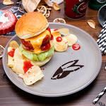 「TIGER BUNNY Cafe PLAYBACK!!」【バーナビー】チーズ&ケチャップバーガー
