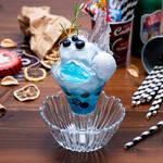 「TIGER BUNNY Cafe PLAYBACK!!」【ブルーローズ】シェービングアイスパフェ