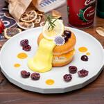 「TIGER BUNNY Cafe PLAYBACK!!」ドランゴンキッド】マンゴーホイップドーナツサンド
