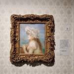 ピエール・オーギュスト・ルノワール《レースの帽子の少女》1891年 油彩/カンヴァス