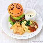 『星のカービィ』カフェに新作登場! ワドルディのハンバーガーやサーモンアボカド丼、ワドルドゥのサラダなど