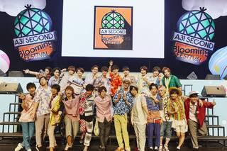 2018年7月29日(日)、イケメン役者育成ゲーム『A3!(エースリー)』の2回目となるファンミーティング『A3! SECOND Blooming FESTIVAL』が武蔵野の森総合スポーツプラザ メインアリーナにて開催されました。今回は昼夜行われた公演のうち、昼公演の様子をレポートします!