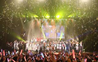 """2017年12月31日(日)に大宮ソニックシティ大ホールで開催されたイベント『STAGE FES 2017』。本イベントでは、""""ミュージカル『Dance with Devils~Fermata(フェルマータ)~』""""、『王室教師ハイネ-THE MUSICAL-』、""""舞台『KING OF PRISM-Over the Sunshine!-』""""、""""舞台『おそ松さんon STAGE~SIX MEN'S SHOW TIME 2~』""""の4タイトルの出演キャスト陣が大晦日に集結!  1日2公演開催された本イベントから、今回は年越しカウントダウンも行われた二部の公演をレポートします。"""