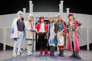 榊原徹士さんと竹中凌平さん、小沼将太さん、古谷大和さん、吉澤翼さん、吉岡佑さんが登壇した舞台『夢王国と眠れる100人の王子様 On Stage』の囲み会見をお届けします♪