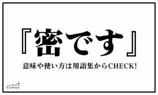 「密です」(みつです)とは東京都知事である、小池百合子氏が発した言葉。意味としては「距離をとって欲しい」という要請ではあるが、小池氏の口調やまるで必殺技を思わせる端的なワードが心をくすぐったのか、瞬く間にネットに広がった。